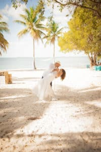 wedding picture on the beach, explaining how to find love again