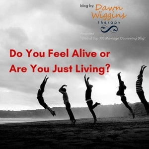 people jumping in the air, do you feel alive or are you just living?