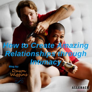 a man and woman playing together, having fun in bed, How to Create Amazing Relationships through Intimacy