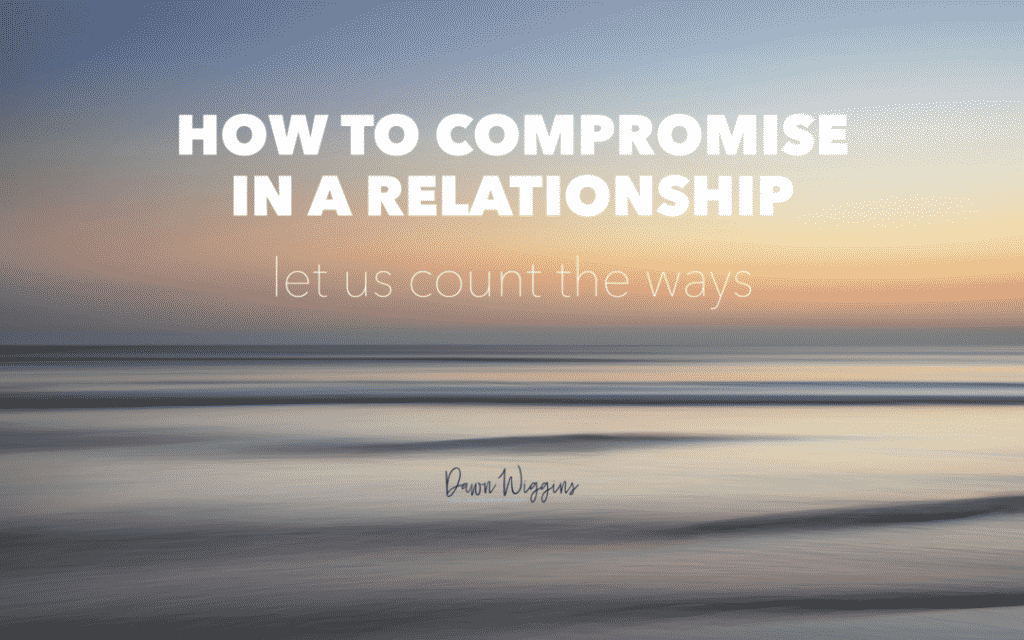 beach at sunset, how to compromise in a relationship