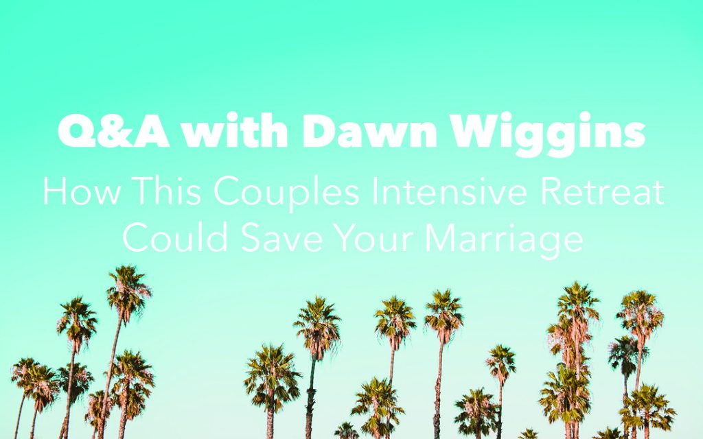 image with palm trees, florida couples retreat