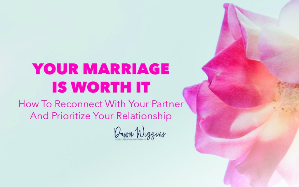 a pink flower, your marriage is worth it, how to reconnect with your partner